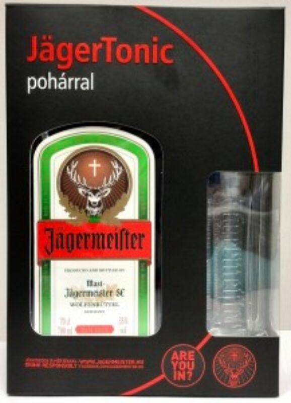 Jägermeister 0,7L 35% + pohár dd.