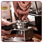 Kávétömörítők, állványok