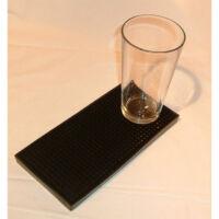 Shaker mat fekete 23,5x11,5cm