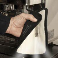 Mikroszálas barista kendő gőzkar tisztításra fekete