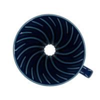 Hario V60-02 kerámia kávécsepegtető dripper Kék