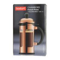 Fényes Chambord 3 csészés Bodum French Press