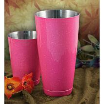 Boston koktél shaker extra glitter pink