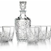 Whiskys Szett Spirit dekanterrel 6 pohárral