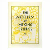 Artistry of Mixing drinks koktélkönyv
