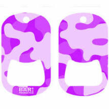 Dog tag flair nyitó Camo Purple