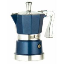 Supertop kotyogós kávéfőző 2 csészéhez kék
