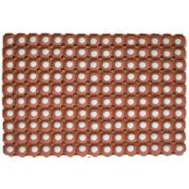 Bárszőnyeg - gumiszőnyeg 152,5x91,5cm tégla színű