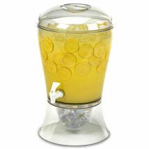 Limonádés partyhordó csappal és jéghűtővel 6L