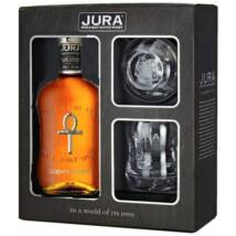 Isle of Jura Superstition whisky dd. 0,7L 43% + 2 pohár
