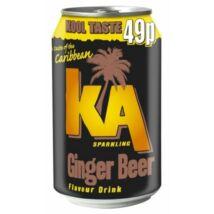 KA Ginger Beer gyömbérsör 0,33L