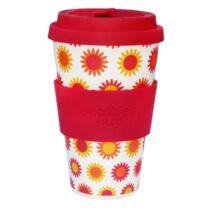 Ecoffee Cup hordozható kávéspohár- Happy 400ml