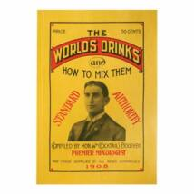 The Worlds Drinks and How to Mix Them koktélkönyv