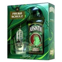 Absinth Fruko Schulz Magic Spirit 70% 0,7L dd+pohár+kanál