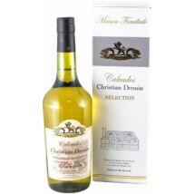 Calvados Christian Drouin Selection 0,7L 40% pdd.