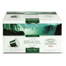 Caffé Brasil Santos 10x 5,2g