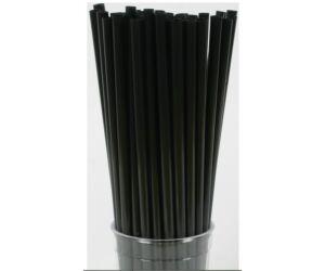 Vastag fekete szívószál 50db/cs