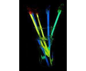 Világító koktélkeverő különféle színekben 3db/cs