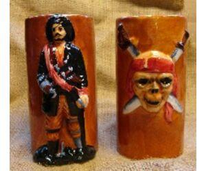 Tiki Pirate Skull pohár
