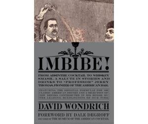 Imbibe, by David Wondrich koktélkönyv