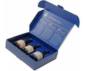 El Dorado rum 12/15/21 mini pack dd. 3x0,05L 42%