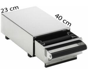 Zacc fiók - knock box 23/40cm
