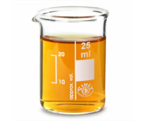 Üveg mérőedény 25ml