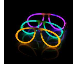 Világító szemüveg különféle színekben