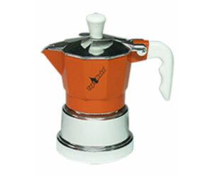 Kotyogós kávéfőző 2 csészéhez barna