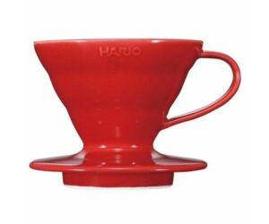 Hario V60 02 kerámia dripper piros