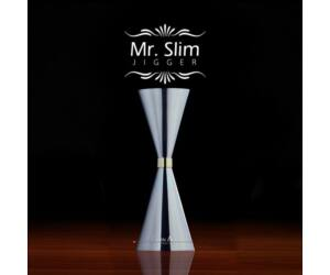 MR Slim japán koktél mérce acél 90-60ml