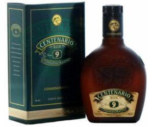 Centenario 9 years Conmemorativo rum pdd. 0,7L 40%