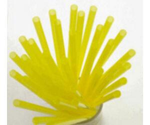 Extra vékony sárga szívószál 5mm 500db/cs