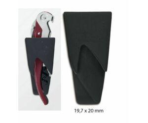 Műanyag  klipszes drekótartó pullparot drekóhoz fekete
