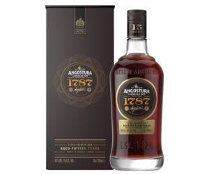 Angostura rum 1787, 15 years 40% dd.
