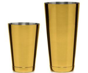 Koriko Boston shaker és pohár szett arany