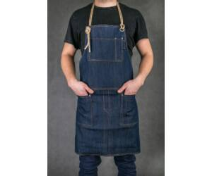 Farmer Báros, barista kötény bőr/madzag pánttal