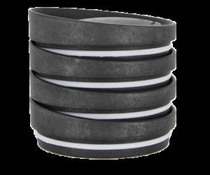 HuskeeCup pohár tető CHARCOAL