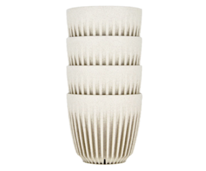 HuskeeCup pohár kávés termosz NATURAL 170 ml