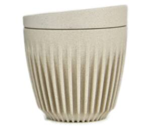 HuskeeCup pohár+tető kávés termosz NATURAL 170 ml