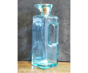 Cilind zöld üveg 16cm
