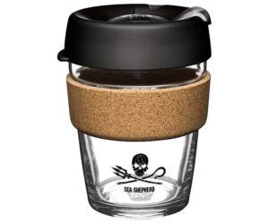 KeepCup brew to go SEA SHEPHERD parafa/üveg pohár 360 ml
