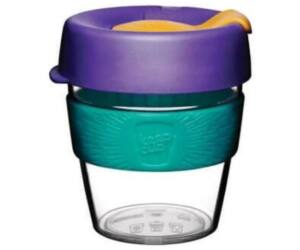KeepCup clear plasztik to go pohár kávés termosz REEF 240 ml