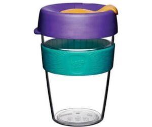 KeepCup clear plasztik to go pohár kávés termosz REEF 360 ml