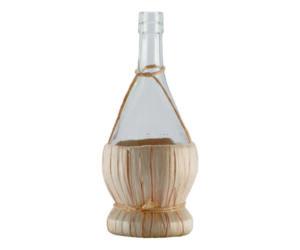 Bitter cseppentő üveg fonott bambusz alljal 375ml