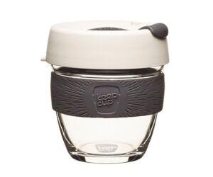 KeepCup Brew Café üveg pohár kávés termosz MILK 240 ml