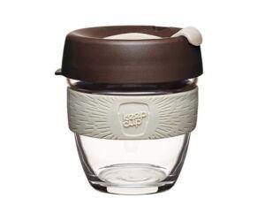 KeepCup Brew Café üveg pohár kávés termosz ROAST 240 ml