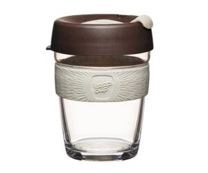 KeepCup Brew Café üveg pohár kávés termosz ROAST 360 ml