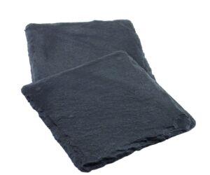 Pohár alátét fekete gumi, kőhatású