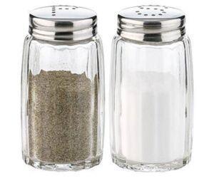Klasszikus só vagy bors szóró üveg 1 db